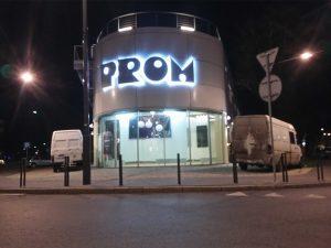 litery prom-efekt halo