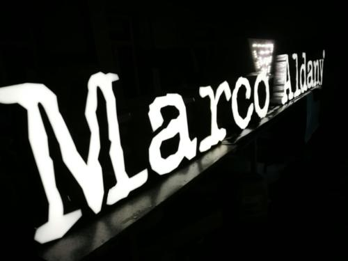 litery przestrzenne Marco-aldany